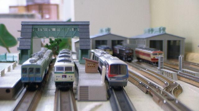 伊豆急 伊豆高原 鉄道模型 ジオラマ