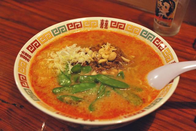 伊豆高原で1番美味い坦々麺